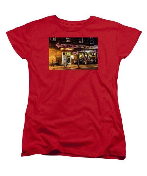Women's T-Shirt (Standard Cut) featuring the photograph Milkboy - 1033 by David Sutton