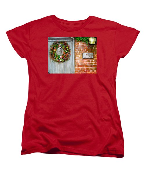 Mill Cottage Women's T-Shirt (Standard Cut) by Patrice Torrillo