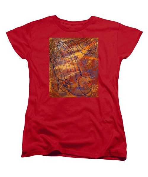 Mind Reflection  Women's T-Shirt (Standard Cut)