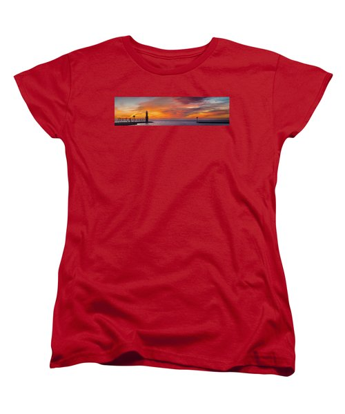 Women's T-Shirt (Standard Cut) featuring the photograph Mine Eyes Have Seen The Glory by Bill Pevlor