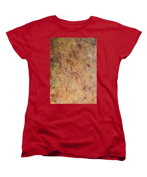 Women's T-Shirt (Standard Cut) featuring the painting Minimal 7 by James W Johnson