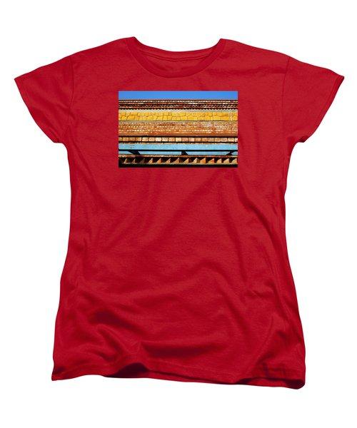 Women's T-Shirt (Standard Cut) featuring the photograph Minimal Sundae by Prakash Ghai