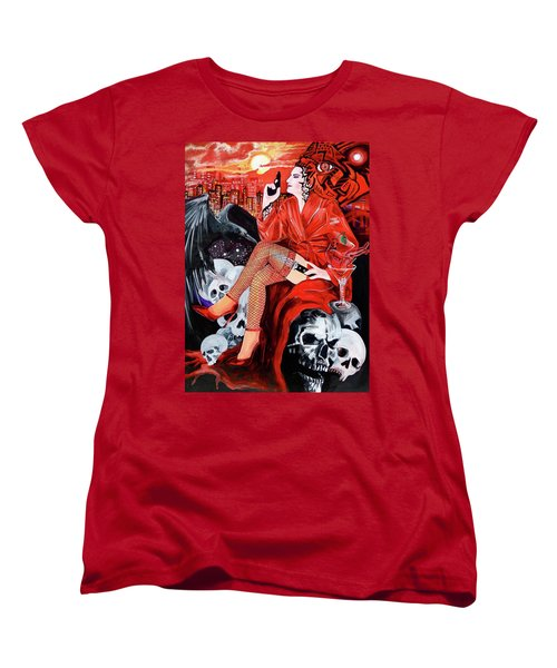 Mision Impossible Women's T-Shirt (Standard Cut) by Yelena Tylkina
