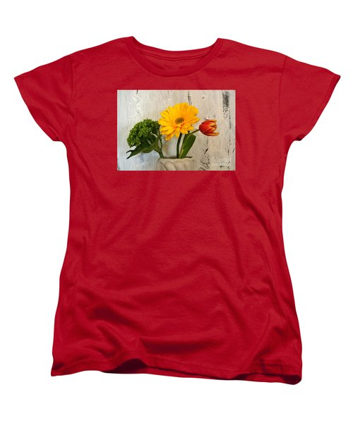 Women's T-Shirt (Standard Cut) featuring the photograph Modern Bouquet by Marsha Heiken