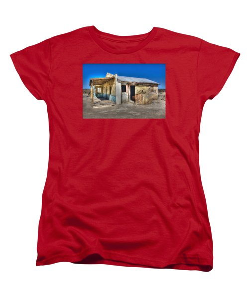 Mojave Times Women's T-Shirt (Standard Cut) by Richard J Cassato