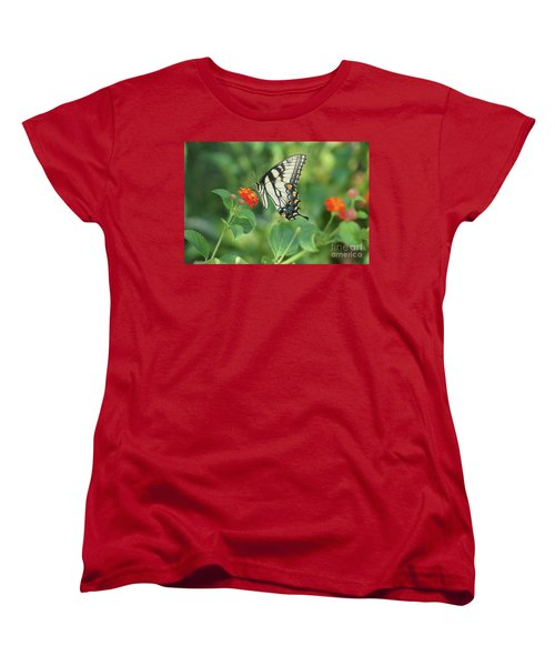 Monarch Butterfly Women's T-Shirt (Standard Cut) by Debra Crank