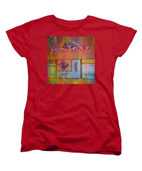 Monopoly Dream Women's T-Shirt (Standard Cut) by Kevin Caudill