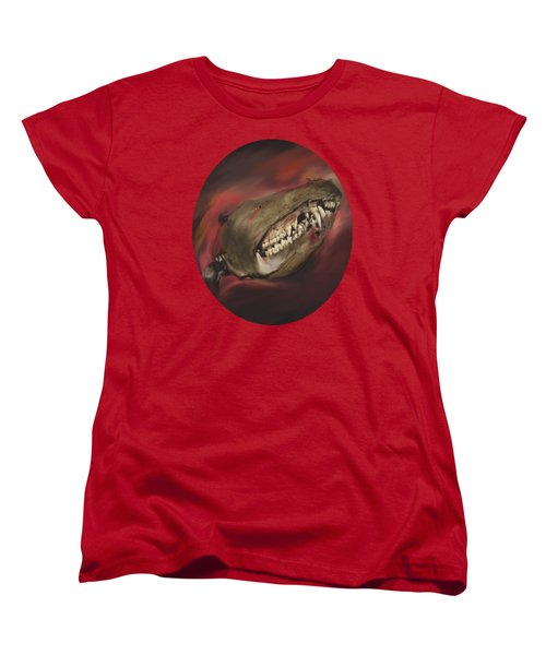 Women's T-Shirt (Standard Cut) featuring the photograph Monster Skull by MM Anderson