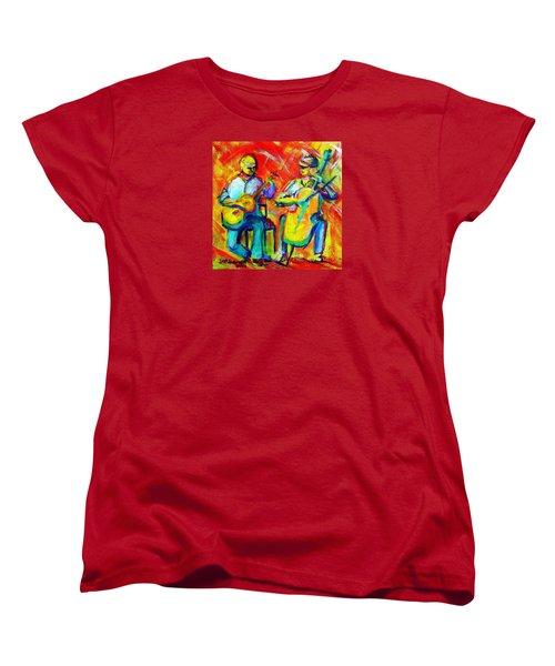 Montana Skies Performance Women's T-Shirt (Standard Cut) by Jeanette Jarmon