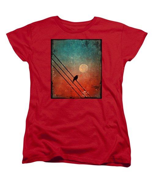 Moon Talk Women's T-Shirt (Standard Cut)