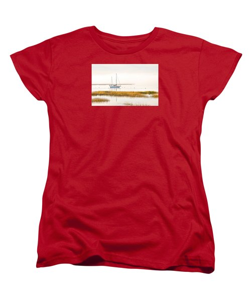 Mooring Line Women's T-Shirt (Standard Cut) by Scott Hansen