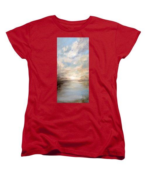 Morning Glory Women's T-Shirt (Standard Cut) by Dina Dargo
