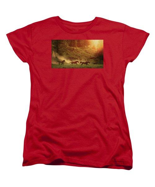 Morning Glory Women's T-Shirt (Standard Cut)