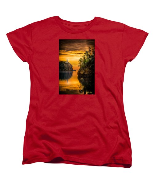 Morning Glow Against The Light Women's T-Shirt (Standard Cut) by Rikk Flohr