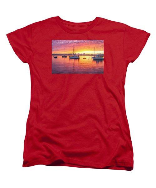 Morning Glow Women's T-Shirt (Standard Cut) by Joseph S Giacalone