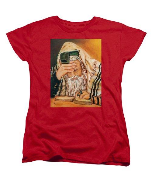 Morning Prayer Women's T-Shirt (Standard Cut) by Itzhak Richter