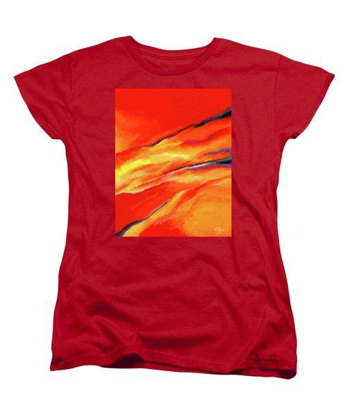 Motivation Women's T-Shirt (Standard Cut) by Stephen Anderson