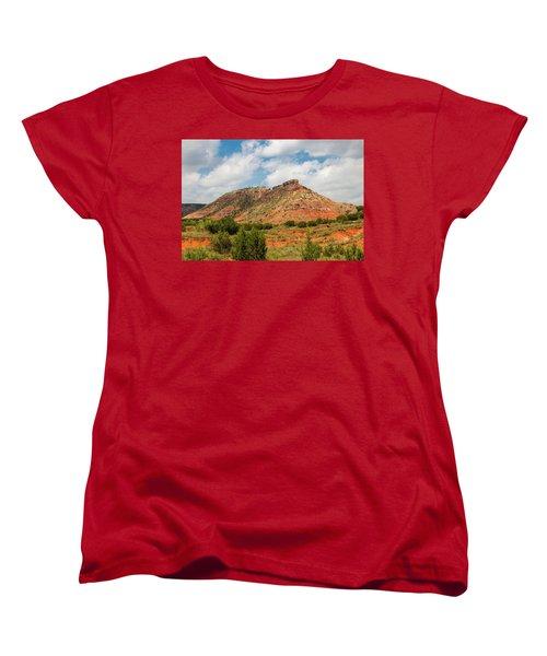 Mountain In Palo Duro Canyons Women's T-Shirt (Standard Cut)