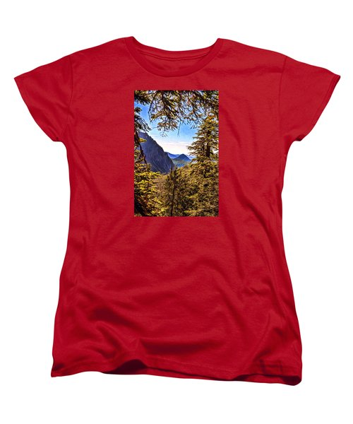 Mountain Views Women's T-Shirt (Standard Cut)