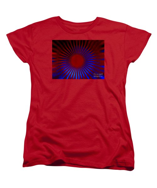 Women's T-Shirt (Standard Cut) featuring the photograph Moving 2 by Trena Mara