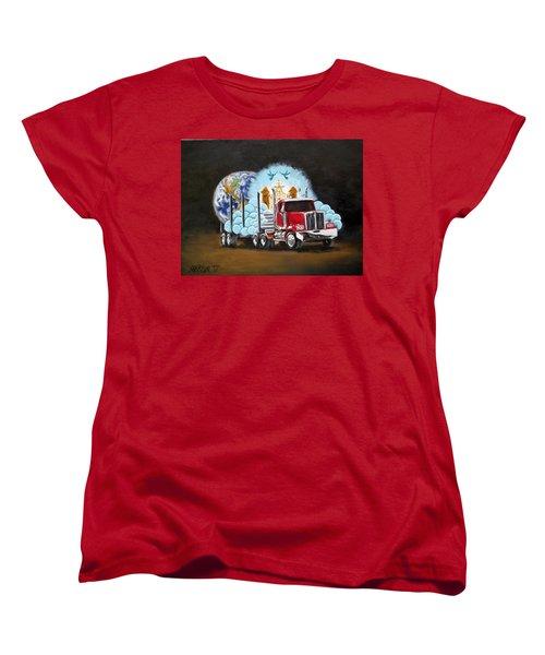 Moving Heaven And Earth  Women's T-Shirt (Standard Cut)