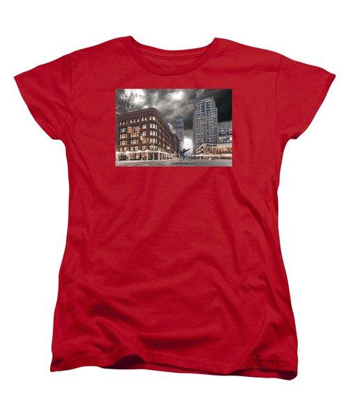 Women's T-Shirt (Standard Cut) featuring the photograph Mr. Jason Hall 2015 by Nicholas  Grunas