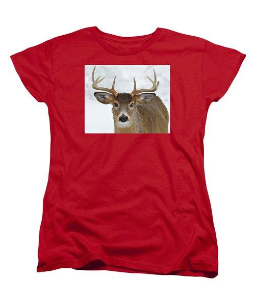 Women's T-Shirt (Standard Cut) featuring the photograph Mug Shot by Tony Beck