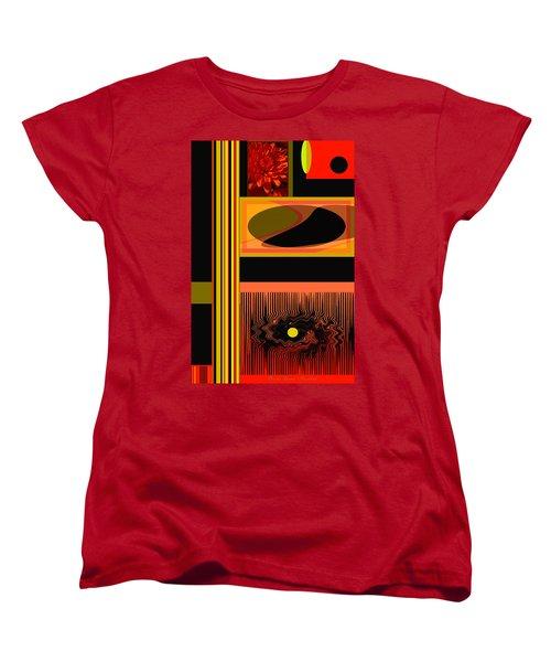 Mum Abstract 1 Women's T-Shirt (Standard Cut) by Brooks Garten Hauschild