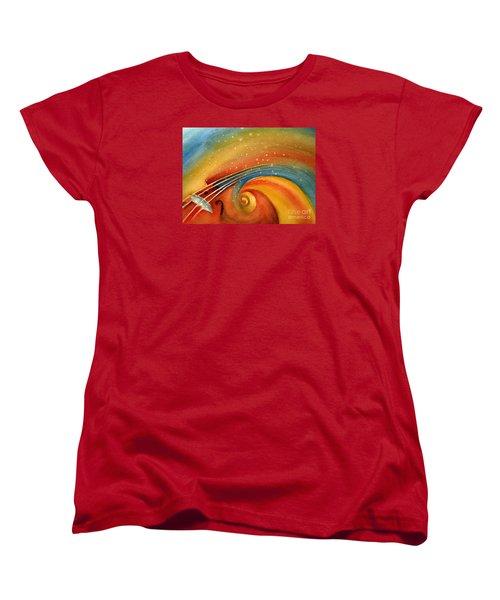 Music In The Spirit Women's T-Shirt (Standard Cut)