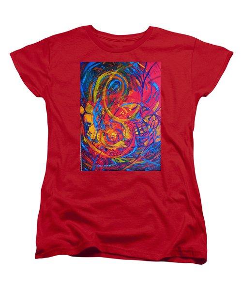 Music Women's T-Shirt (Standard Cut) by Jeanette Jarmon