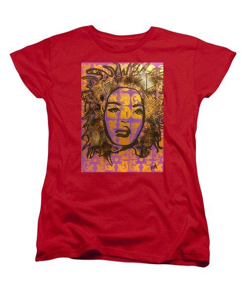 Music Mother  Women's T-Shirt (Standard Cut) by Miriam Moran