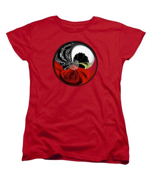 Music Orbit Women's T-Shirt (Standard Cut) by Phyllis Denton