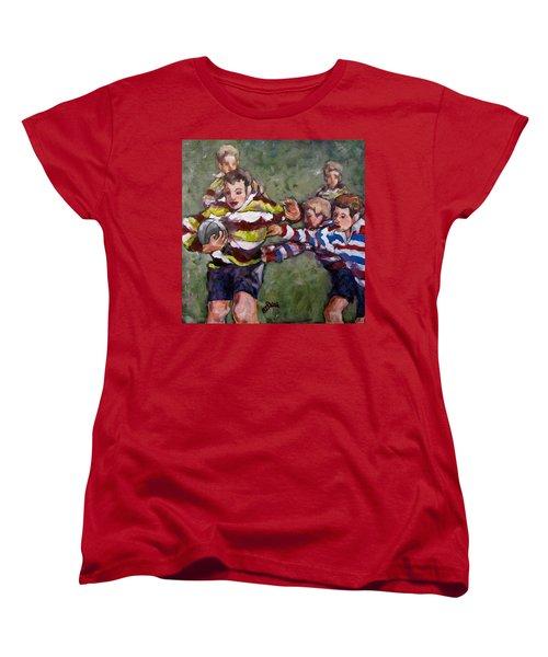My Ball Women's T-Shirt (Standard Cut) by Barbara O'Toole