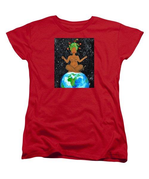 My Own World Women's T-Shirt (Standard Cut) by Diamin Nicole