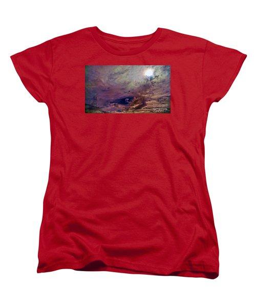 Women's T-Shirt (Standard Cut) featuring the photograph Mystery by Roberta Byram