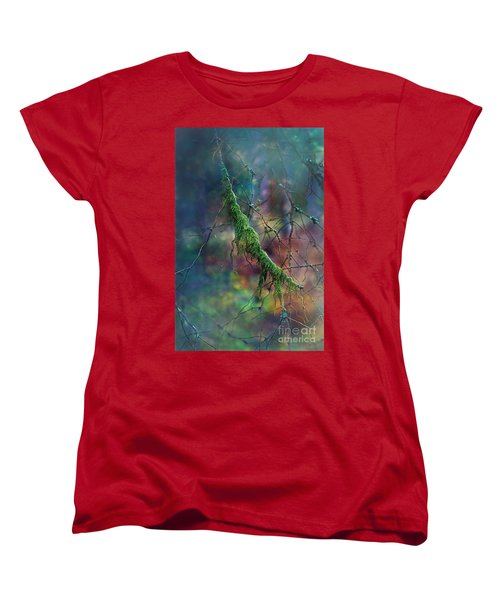Mystical Moss - Series 1/2 Women's T-Shirt (Standard Cut) by Agnieszka Mlicka