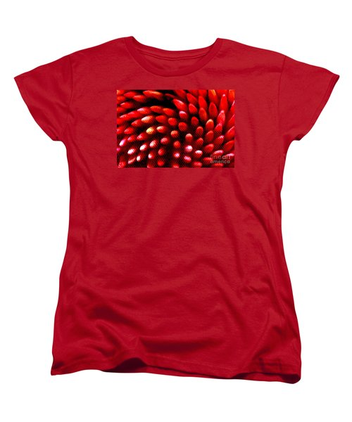 Women's T-Shirt (Standard Cut) featuring the photograph Naked Porcupine by Stephen Mitchell