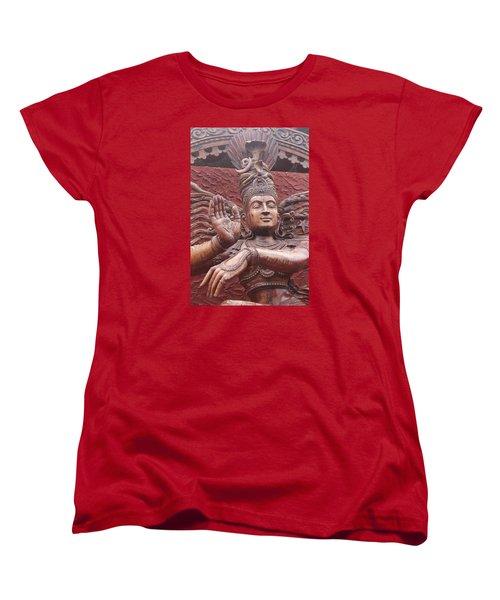 Nataraj, Fort Kochi Women's T-Shirt (Standard Cut) by Jennifer Mazzucco