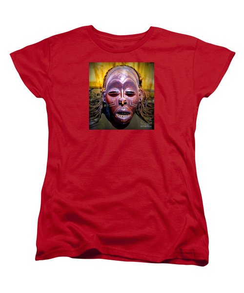 Native Mask Women's T-Shirt (Standard Cut) by John Potts