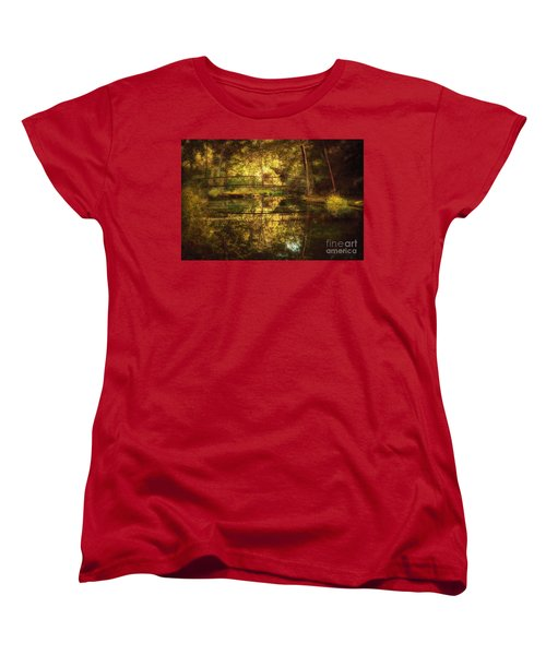 Natural Falls Bridge  Women's T-Shirt (Standard Cut) by Tamyra Ayles