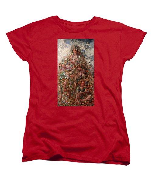Nature Or Abundance Women's T-Shirt (Standard Cut) by Leon Frederic