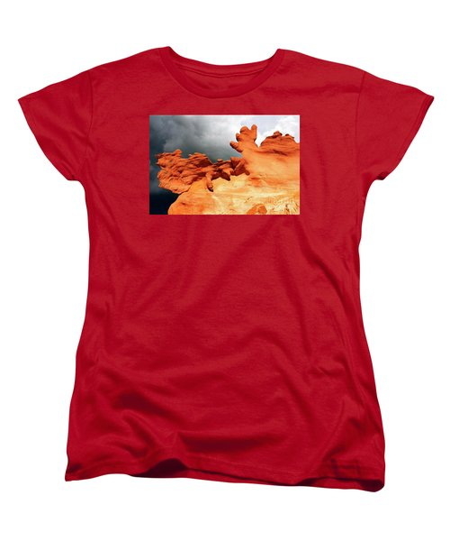 Women's T-Shirt (Standard Cut) featuring the photograph Nature's Artistry Nevada 2 by Bob Christopher