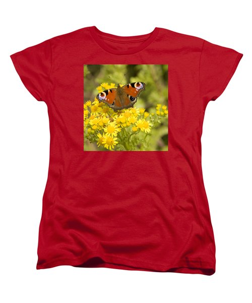 Women's T-Shirt (Standard Cut) featuring the photograph Nature's Beauty by Ian Middleton