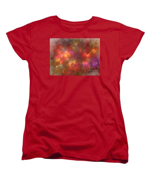 Nebula Women's T-Shirt (Standard Cut) by Kim Sy Ok