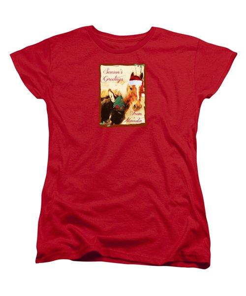 Nevada Greetings Women's T-Shirt (Standard Cut)
