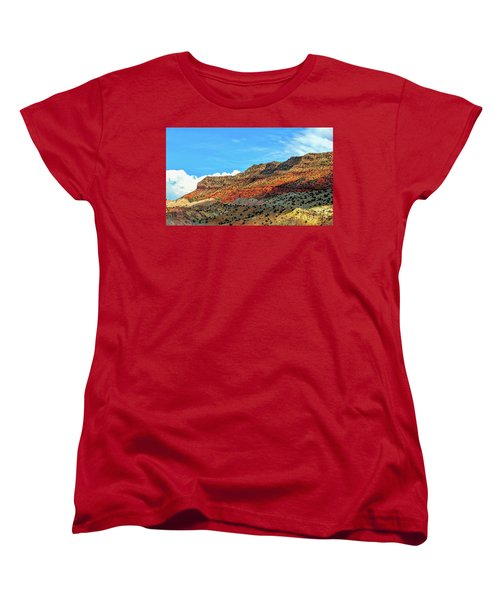 New Mexico Landscape Women's T-Shirt (Standard Cut) by Gina Savage
