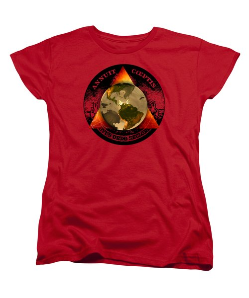 New World Order By Pierre Blanchard Women's T-Shirt (Standard Cut) by Pierre Blanchard