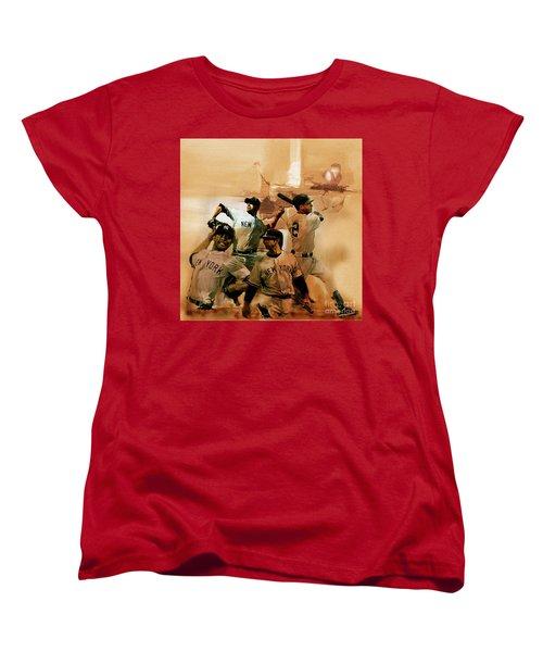 New York Yankees  Women's T-Shirt (Standard Cut) by Gull G
