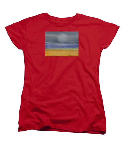 Night Fog On The Beach Women's T-Shirt (Standard Cut) by Dr Loifer Vladimir