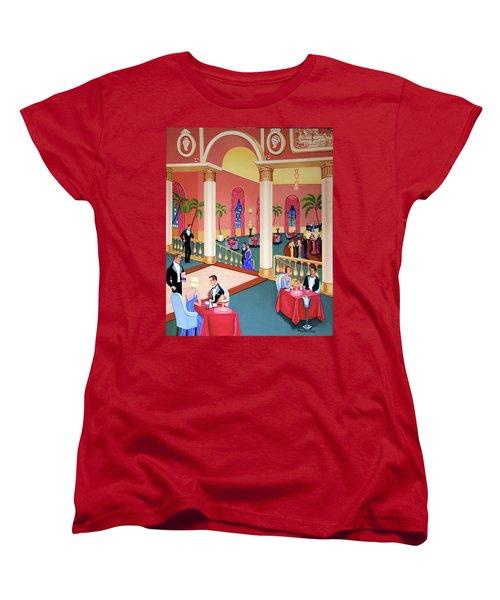 Night Life Women's T-Shirt (Standard Cut) by Tracy Dennison